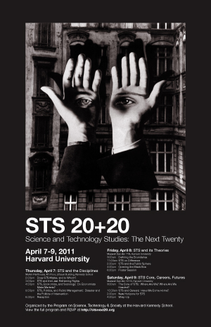 STS 20+20 event poster