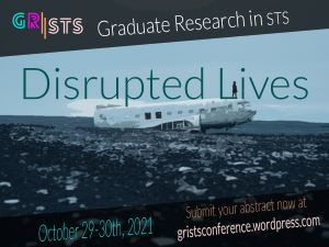 GRiSTS: Disrupted Lives event poster