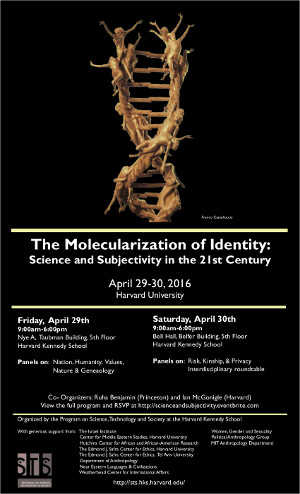 The Molecularization of Identity event poster