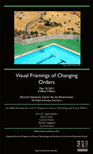 Visual Framings of Changing Orders event poster