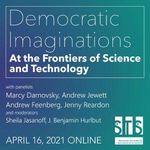 Democratic Imaginations event poster