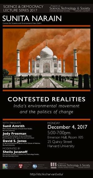 Sunita Narain poster