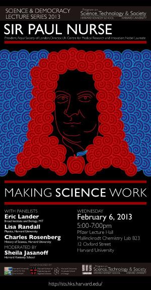 Paul Nurse poster