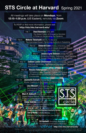 STS Circle schedule poster